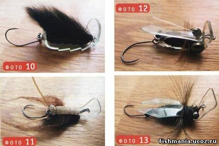 Приманки насекомые для ультралайта (memres-2)